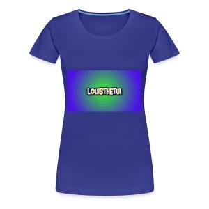 Cartoony Louisthetui Logo - Women's Premium T-Shirt