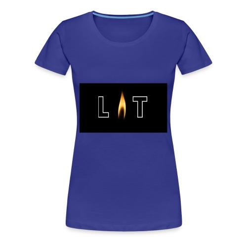 LIT LOGO DESIGN - Women's Premium T-Shirt