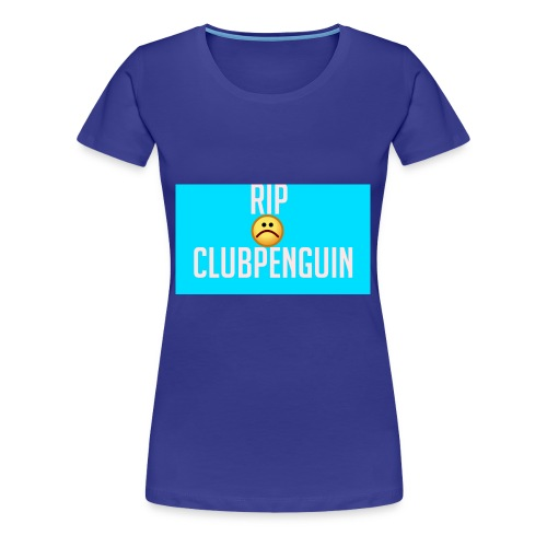 RIP ClubPenguin - Women's Premium T-Shirt