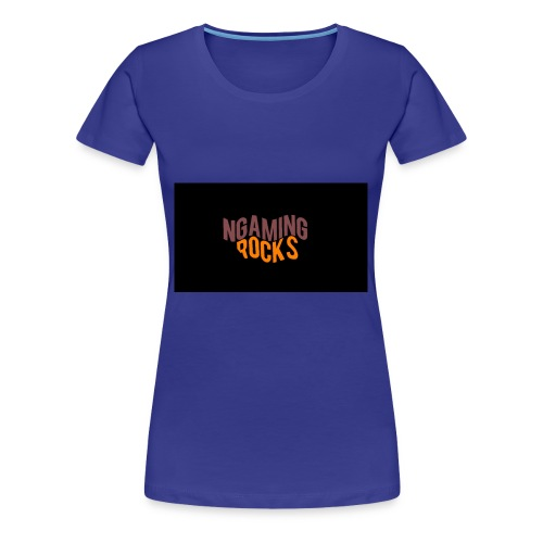 NgamingRocks LoGo - Women's Premium T-Shirt