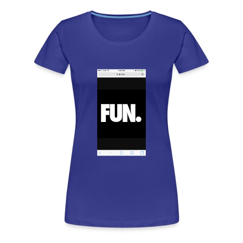 014Kadin fun - Women's Premium T-Shirt