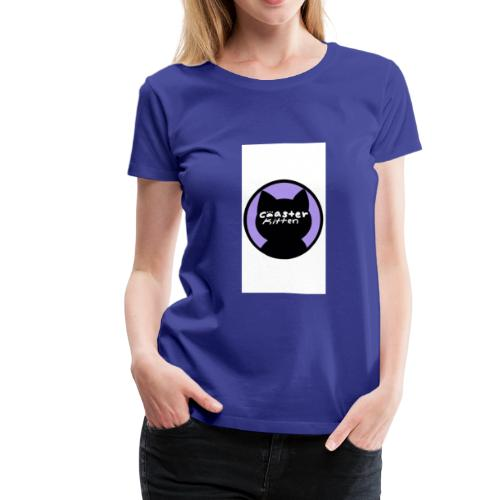 Coaster Kitten Official 2018 Logo - Women's Premium T-Shirt