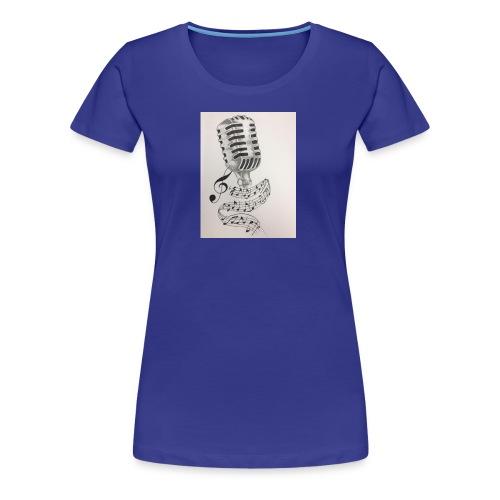 Microphone - Women's Premium T-Shirt