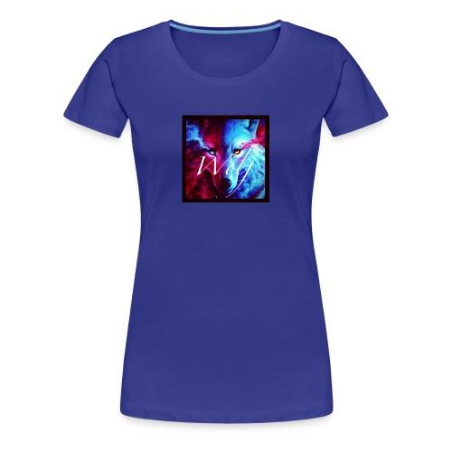 Cross wolf - Women's Premium T-Shirt