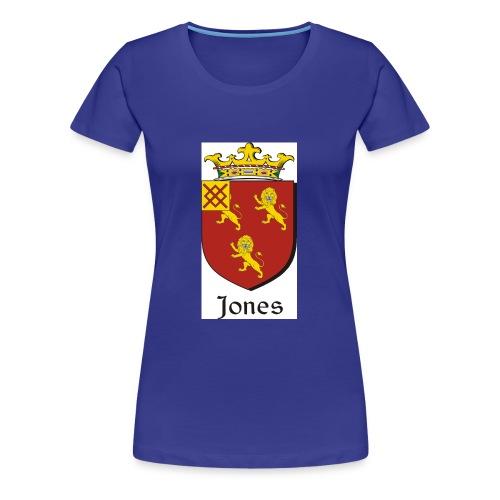 Jones Irish Crest - Women's Premium T-Shirt