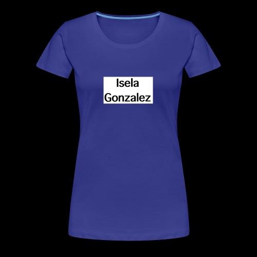 Isela Gonzalez logo - Women's Premium T-Shirt