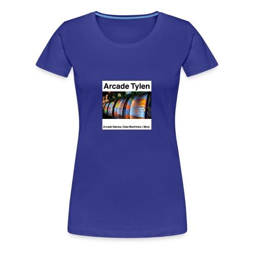 Arcade Tylen Latest Logo Design - Women's Premium T-Shirt