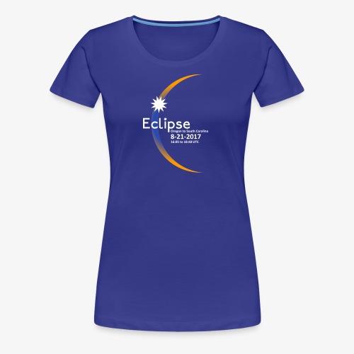 Eclipse 2017 Commemorative Insignia - Women's Premium T-Shirt