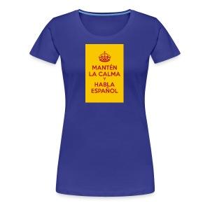 18cc4 keepcalmposter - Women's Premium T-Shirt