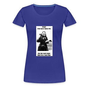 WCTU Saloon Smashing Prohibitionist Carrie Nation - Women's Premium T-Shirt