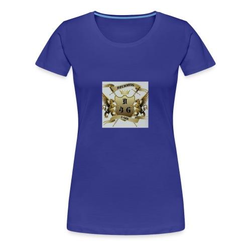 D4G logo - Women's Premium T-Shirt