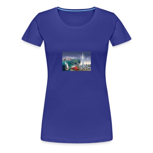 UAE Business Directory Yellow Pages Online - Women's Premium T-Shirt