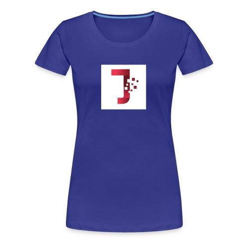 JiltedStarfish7 logo - Women's Premium T-Shirt