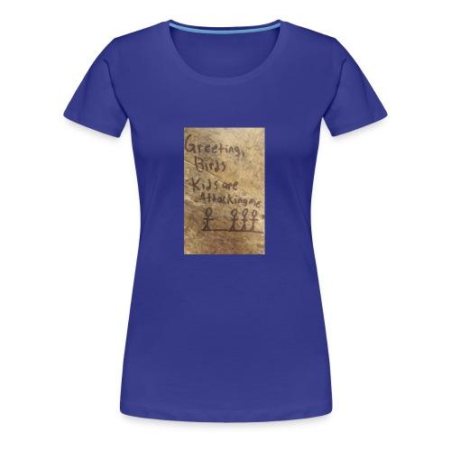 Kids are attacking me - Women's Premium T-Shirt