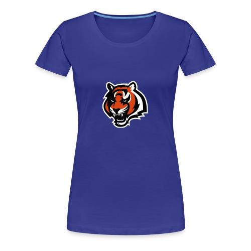 nfl logo black orange Logo - Women's Premium T-Shirt