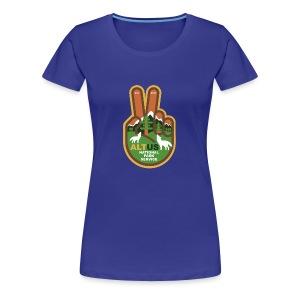 ALT US National Park Service - Peace - Women's Premium T-Shirt