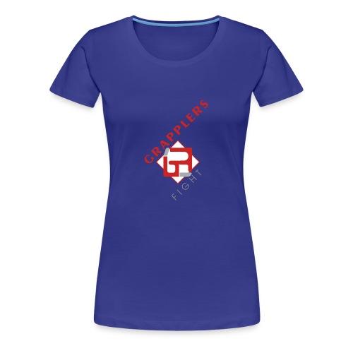 Dynamic 001 grapplersfight LOGO Front - Women's Premium T-Shirt