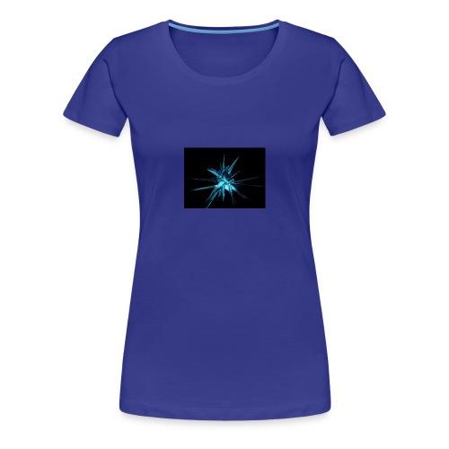 Neon blue design - Women's Premium T-Shirt