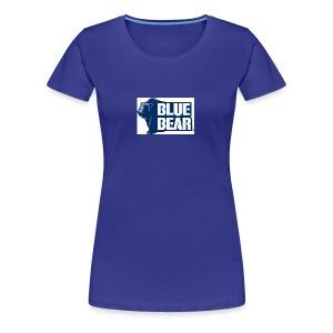 Blue Bear logo - Women's Premium T-Shirt