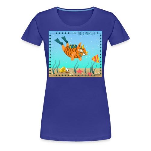 Monster diver - Women's Premium T-Shirt