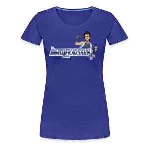 Wolfkaosaun and character - Women's Premium T-Shirt
