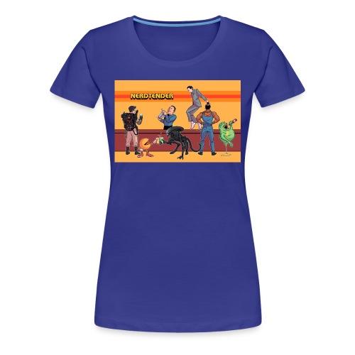 Official Nerdtender T-Shirt - Women's Premium T-Shirt