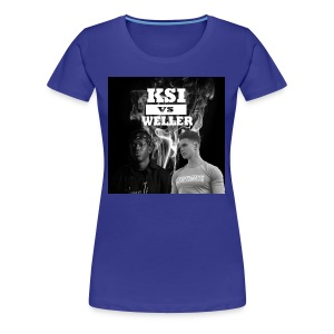 KSI VS Weller - Women's Premium T-Shirt