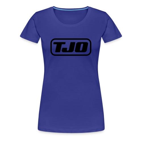 TJO official large black - Women's Premium T-Shirt