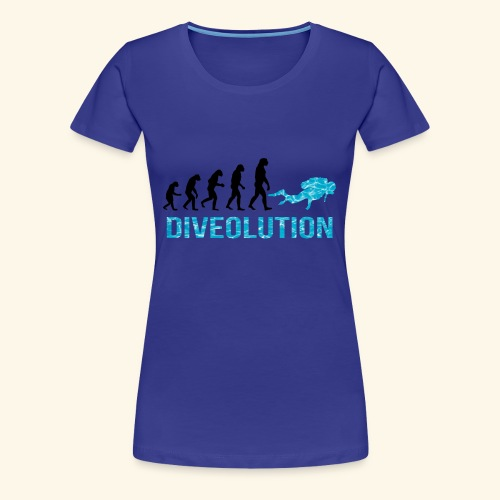 DIVEOLUTION - Women's Premium T-Shirt