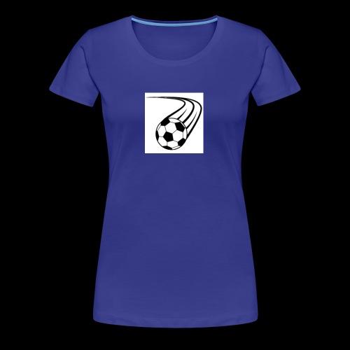 Soccer ball logo - Women's Premium T-Shirt