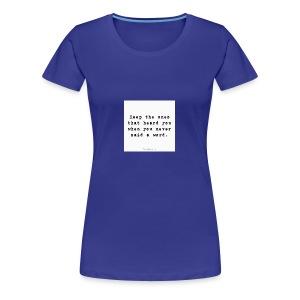 e4ba8bbc1d6516e2a24e5827f27368c0 cool friendship - Women's Premium T-Shirt