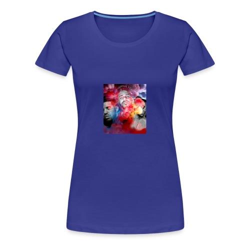 Black T-Shirt Drake Kendrick J.Cole - Women's Premium T-Shirt