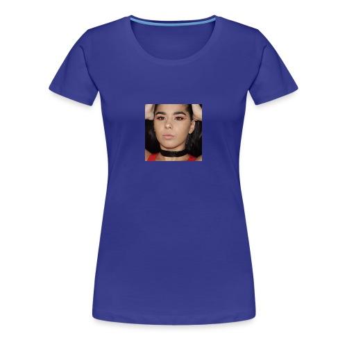 Orange & Black Cut Crease - Women's Premium T-Shirt