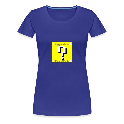 Keep Calm & Punch Blocks - Women's Premium T-Shirt