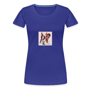 # Trying to fit in. - Women's Premium T-Shirt