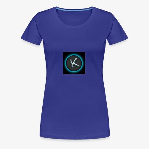 K Logo - Women's Premium T-Shirt
