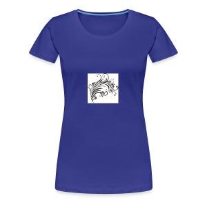 Floral Design 4 - Women's Premium T-Shirt