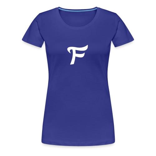 Fewn White Logo - Women's Premium T-Shirt