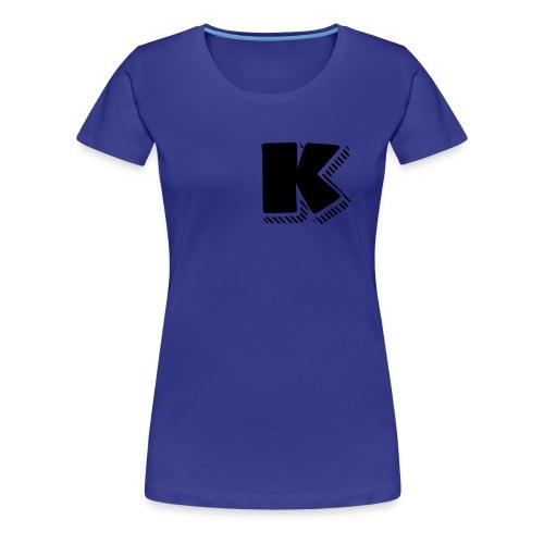 Black K - Women's Premium T-Shirt