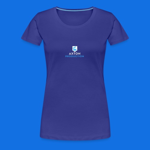 AxtonProduction Logo - Women's Premium T-Shirt
