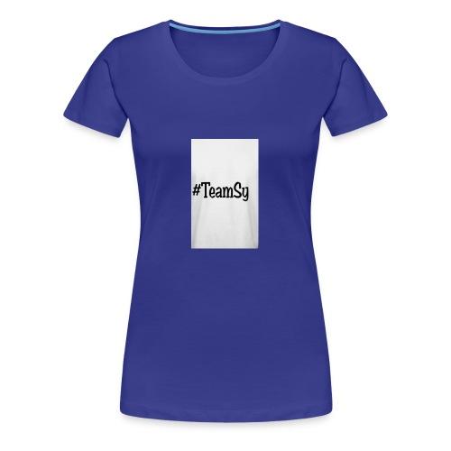 #TeamSy - Women's Premium T-Shirt