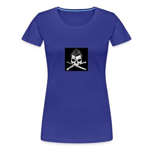 Greaser skull - Women's Premium T-Shirt