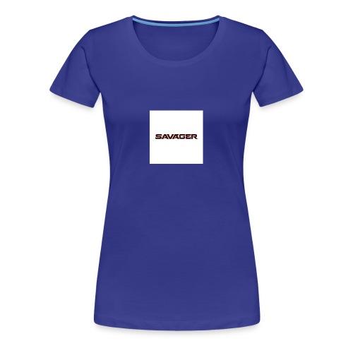 savagerRedLogo - Women's Premium T-Shirt