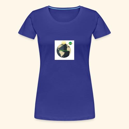 The Official Caleb Quarshie Logo - Women's Premium T-Shirt