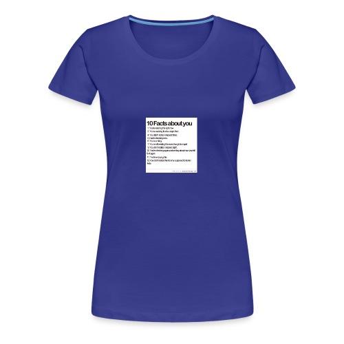facts - Women's Premium T-Shirt