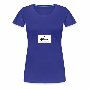 Come And Take It Guitar - Women's Premium T-Shirt