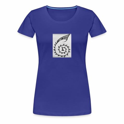 Tribal horn - Women's Premium T-Shirt