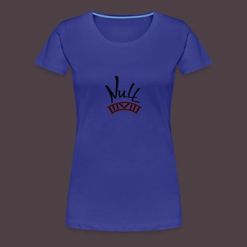 Null Logo - Women's Premium T-Shirt