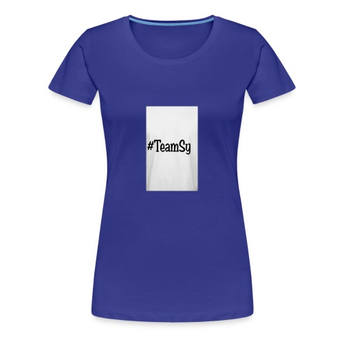 #TeamSy - Women's Premium T-Shirt
