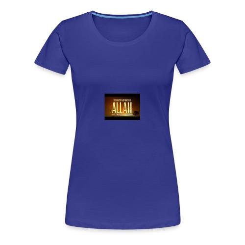 the power and mercy of allah true story mufti menk - Women's Premium T-Shirt